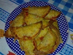 Empanadillas de pavo y queso