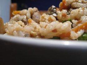 Plato de arroz japonés