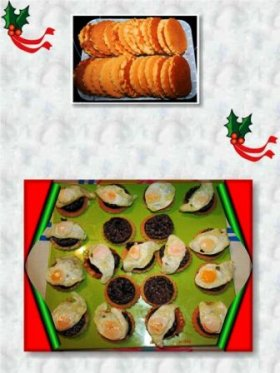 Blinis con Morcillad de Burgos y Huevos de Codorniz