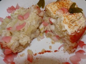 ensaladilla de merluza