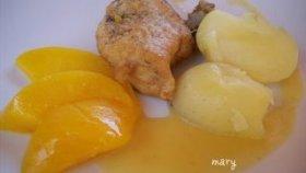 Pollo al melocot