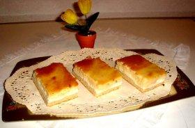 Pastel de flan de vanilla y ricota