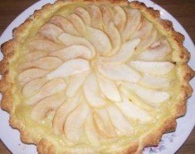 Frola pastelera de peras
