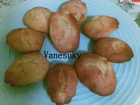 Madeleines de pera