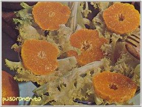 Ensalada con naranjas