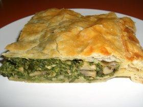 Recetas caseras : Empanada de espinacas