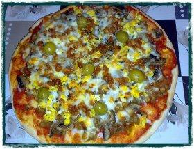 Pizza de chistorra