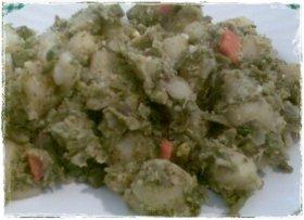 Verduras al vapor y salteadas con ajo