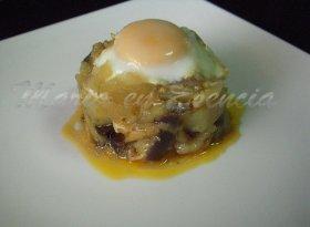 Patabere ..con ..huevo