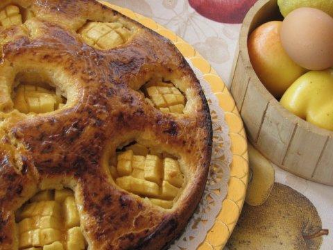 Tarta de manzana de mi abuela