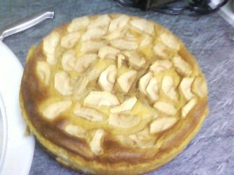 Tarta de manzana gorda