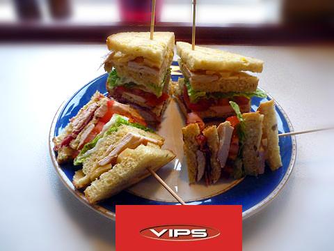 Recetas caseras : S�ndwich club del vips hecho en casa