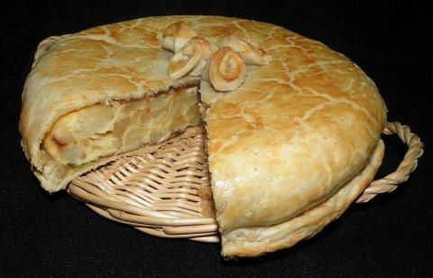 Tortilla tapada
