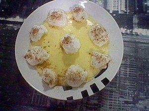 Natillas con merengue