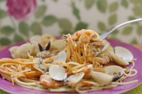 Spaguetti frutti di mare