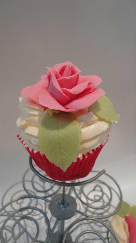 Recetas caseras : Cupcakes de vainilla con merengue suizo