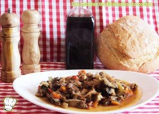 Ternera con salsa de verduras de temporada