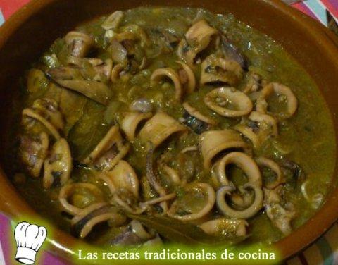 Calamares con salsa albufereta