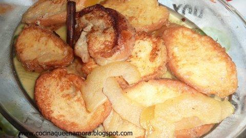 Torrrijas o tostadas
