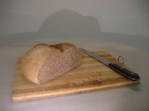Pan, con harina integral