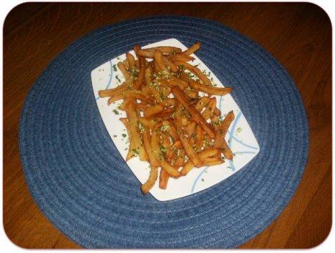 Recetas caseras : Patatas con ajo y perejil