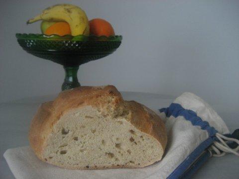 Pan blanco, con levadura madre