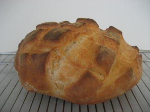 Pan blanco, con hurmiento