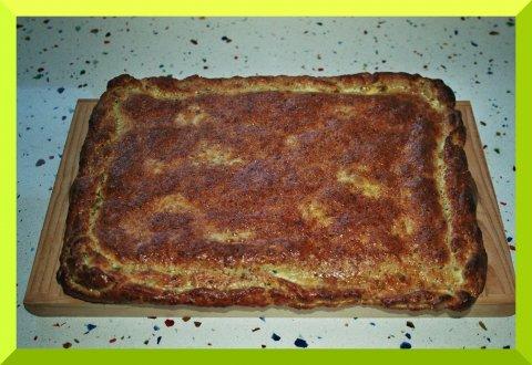 Empanada de pistachos con atún