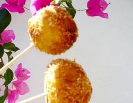 Croquetas de patatas y tomillo