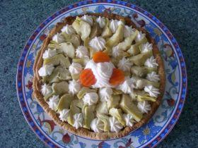Tarta de Alcachofas