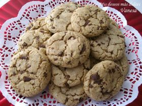 Cookies galletas americanas