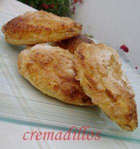 Cremadillos de Crema Pastelera ( Convencional)