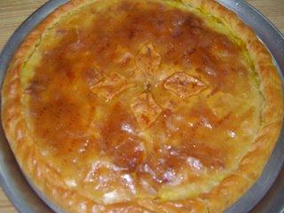 Empanada gallega de xouvas