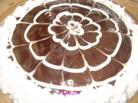 Tarta de frixuelos (creps)