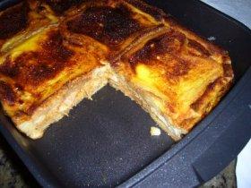 Recetas caseras : Empanada de pan de molde
