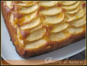 Recetas caseras : Bizcocho de manzana esponjoso