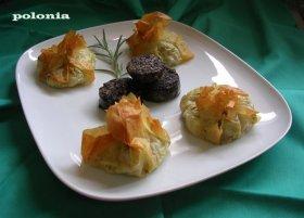 Recetas caseras : Regalos de col con ajos tiernos y morcilla