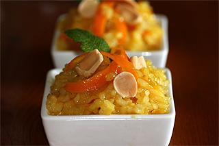 Arroz con Naranja y azafr�n