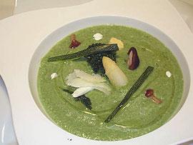 Crema de verduras Picasso