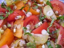 Recetas caseras : Encurtido ecuatoriano de tomate y cebolla morada