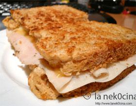 Pan de sandwich avena y miel