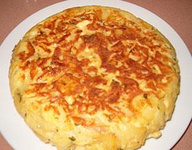 Tortilla de patatas rápida